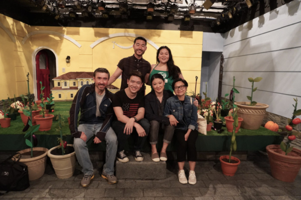 John D. Haggerty, Kenneth Lee, Daniel K. Isaac, Jennifer Lim, Holly Chou and Julyana  Photo