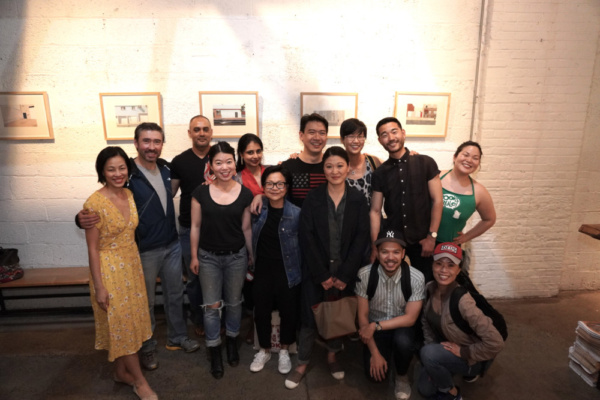 Lia Chang,John D. Haggerty, Rajesh Bose, Zhu Yi, Mahira Kakkar, Julyana Soelistyo, Kenneth Lee, Jennifer Lim, Cindy Cheung, Jon Norman Schneider, Daniel K. Isaac, Vanessa Kai and Holly Chou. Photo by