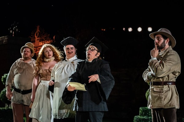 Photo Flash: LOVE'S LABORS LOST at Shakespeare Festival St. Louis