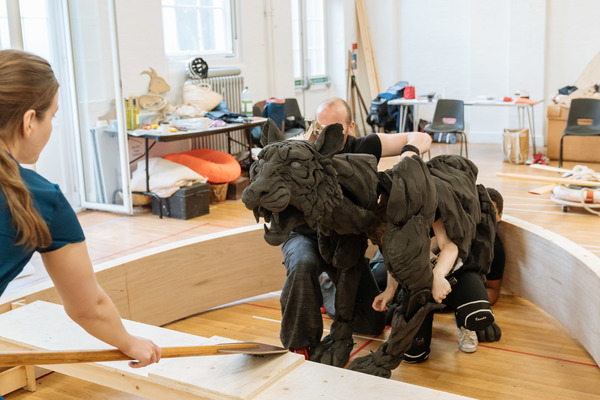 Photo Flash: In Rehearsal with Sheffield Theatres' LIFE OF PI