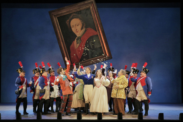 The Cast of The Barber of Seville