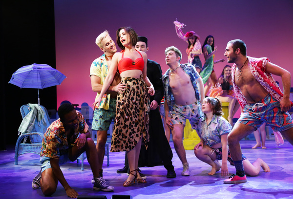 Photo Flash: Terrence Mann Directs MAMMA MIA! At Connecticut Repertory Theatre