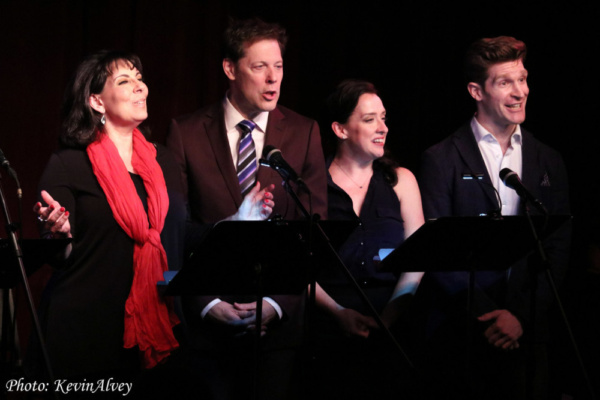 Christine Pedi, John Bolton, Kirsten Mengelkoch, Taylor Crousore Photo