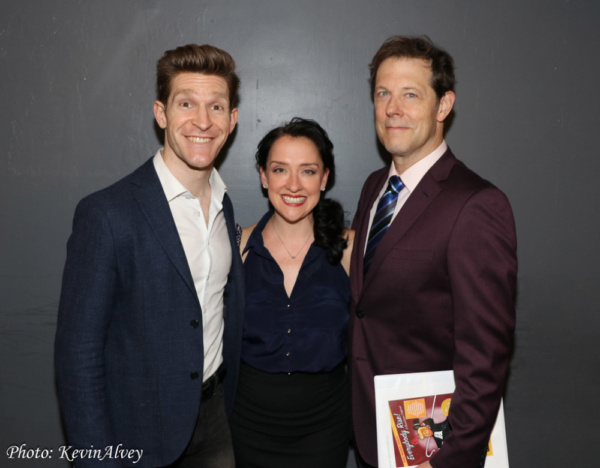 Taylor Crousore, Kristen Mengelkoch, John Bolton Photo