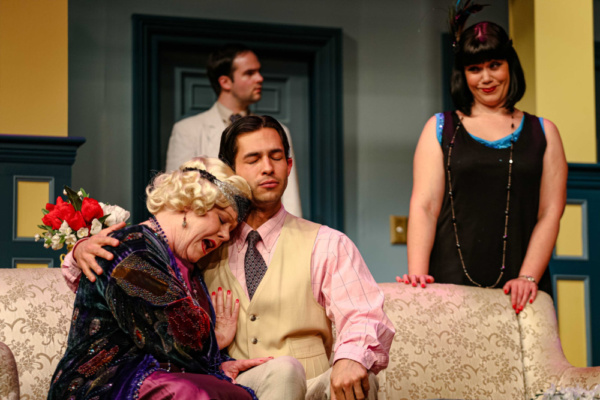 Judith (Jane McKittrick), Simon (Rodman Bolek), Sandy (Frank Roberts) & Sorel (Deya Ozburn)