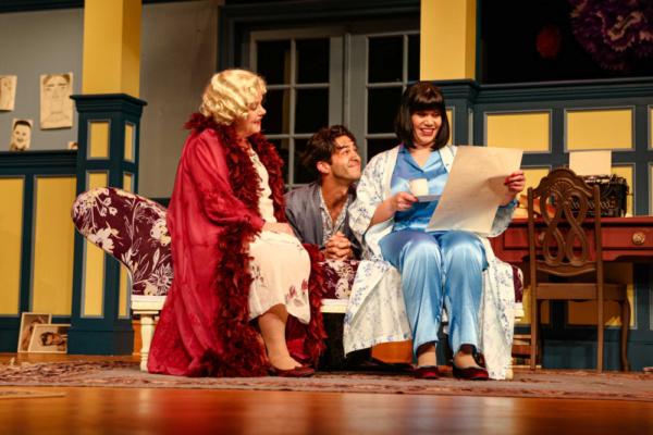 Judith (Jane McKittrick), Simon (Rodman Bolek) & Sorel (Deya Ozburn)
