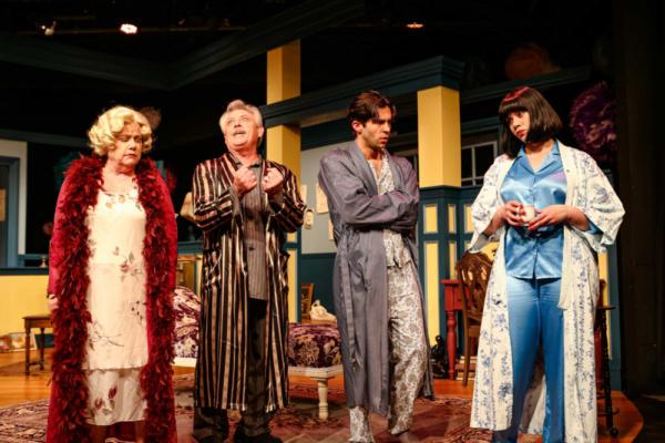 Judith (Jane McKittrick), David (John W. Olive), Simon (Rodman Bolek) & Sorel (Deya Ozburn)