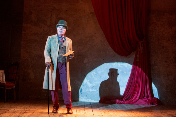 Photo Flash: First Look at THE SWEET SCIENCE OF BRUISING at Wilton's Music Hall