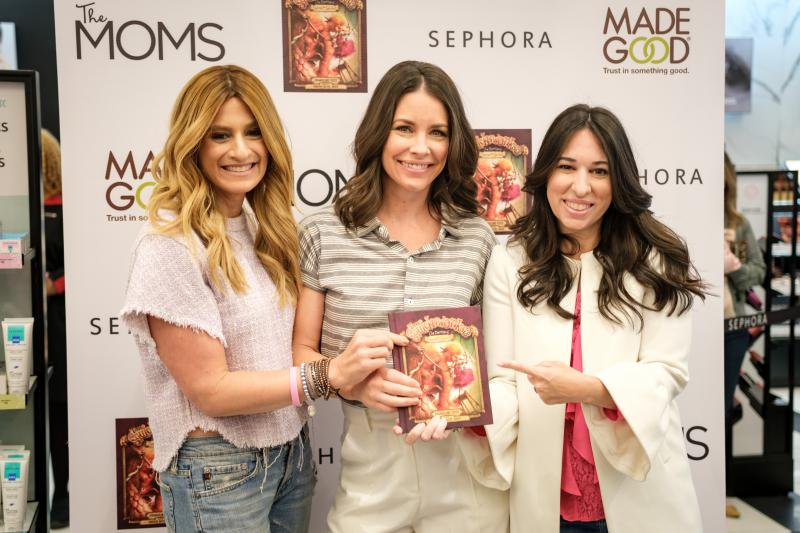 Photo Coverage: THE MOMS at Sephora with Evangeline Lily and Made