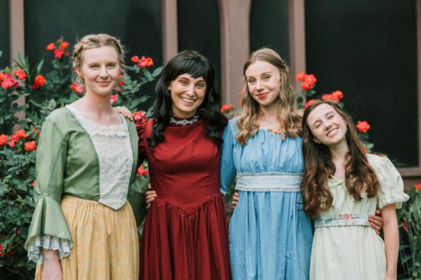 Robyn Rae Stype, Abigail Worden, Rachel Bachar and Sarah Marie Wilson Photo
