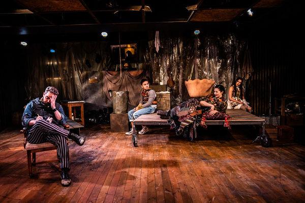 Max Hartman * (Sweeney Todd), Alejandro Saucedo (Tobias Ragg), Sarah Gay* (Mrs. Lovett), Carly Wheeler (Johanna)