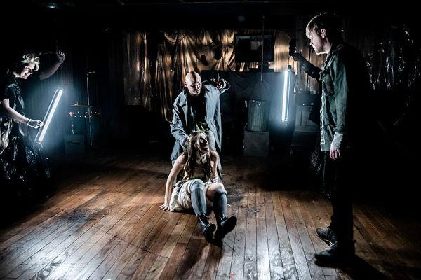 Mary Gilbreath Grim (Adolfo Pirelli/ Beggar Woman), Alex Heika (Beadle/Jonas Fogg), Carly Wheeler (Johanna), Ian Ferguson* (Anthony Hope)