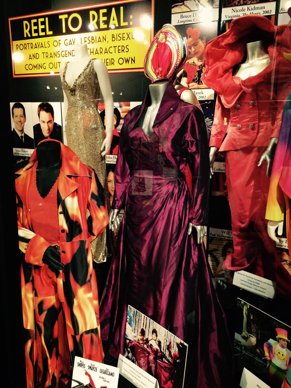 "Costumes from the LGBT iconic film, ""To Wong Fu, Thanks for everything! Julie Newmar."""