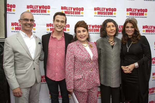 Mitch O'Farrell, Tyler Henry, Donelle Dadigan, Lily Tomlin and Lisa Vanderpump Photo