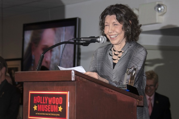 Lily Tomlin at the Podium Photo