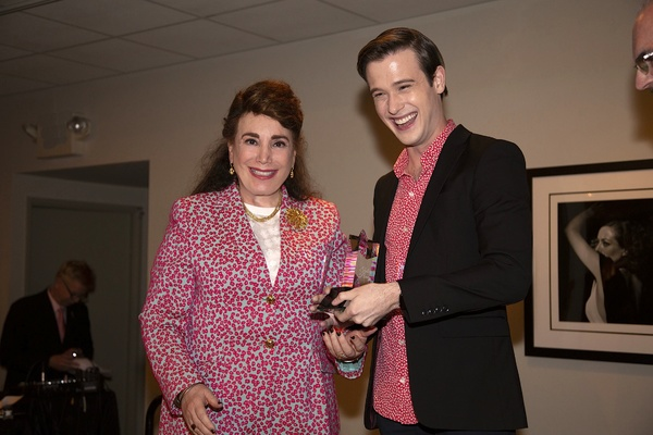 Donelle Dadigan and Tyler Henry during presentation Photo