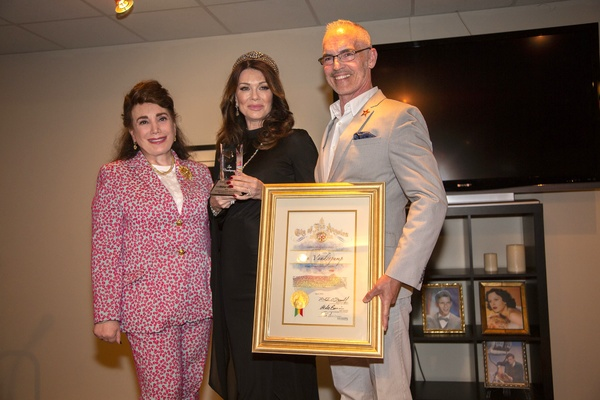 Donelle Dadigan, Lisa Vanderpump and Mitch O'Farrell during presentation Photo