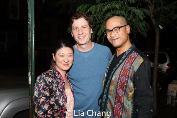 Jennifer Lim, Gary Wilmes and Ed Sylvanus Iskandar