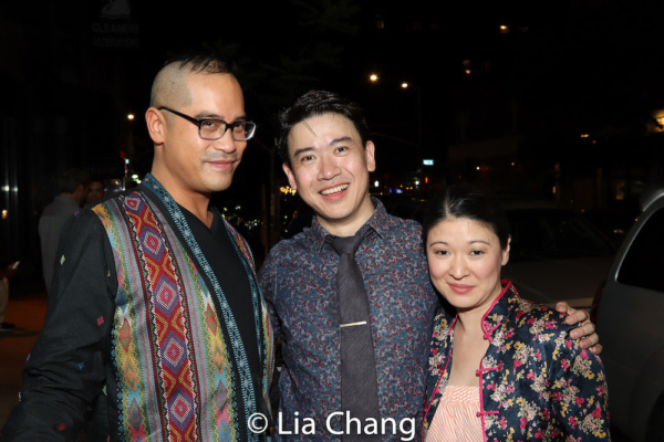 Ed Sylvanus Iskandar, Kenneth Lee and Jennifer Lim