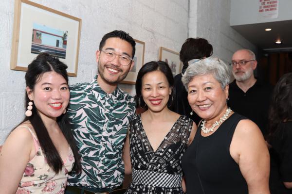 Zhu Yi, Daniel K. Isaac, Lia Chang and Esther Lee. Photo by Sarah Einspanier