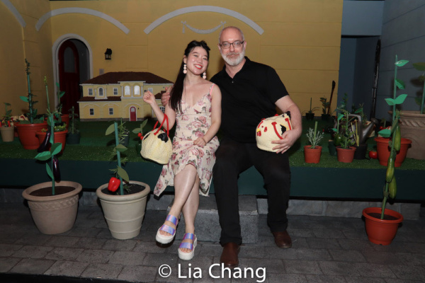 Playwright Zhu Yi and Director Ken Rus Schmoll Photo