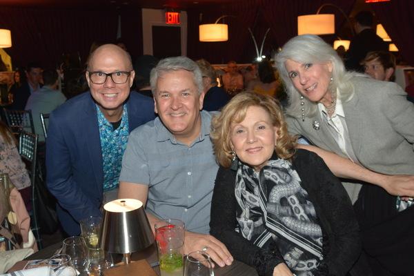 Richie Ridge, Richard Hillman, Brenda Vaccaro and Jamie deRoy