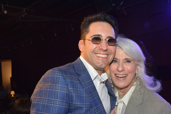 John Lloyd Young and Jamie deRoy Photo