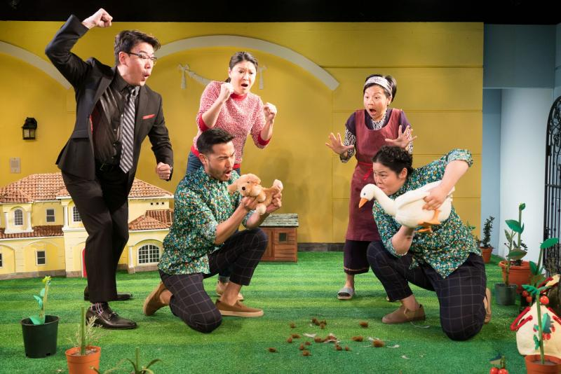 BWW Review: Clubbed Thumb Presents Zhu Yi's Chinese Gentrification Story YOU NEVER TOUCHED THE DIRT