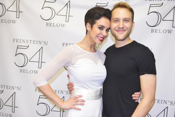 Alexandra Silber and Nick Rehberger