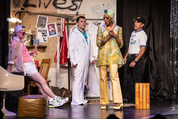 Photo Flash: First Look at triangle productions!' THE LEGEND OF GEORGIA MCBRIDE