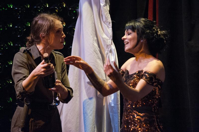 BWW Review: Café Nordo's THE CHAMPAGNE WIDOW is a Bubbly Good Time