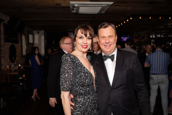 THE PROM'S Beth Leavel and Brooks Ashmanskas