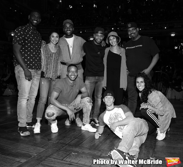 Carvens Lissaint, Lauren Boyd, Deon'te Goodman, Tré Smith, Terrance Spencer, Christina Glur, Thayne Jasperson, James Monroe Iglehart and Gabriella Sorrentino