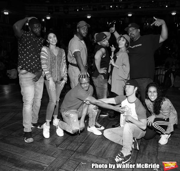 Carvens Lissaint, Lauren Boyd, Deon'te Goodman, Tré Smith, Terrance Spencer, Christina Glur, Thayne Jasperson, James Monroe Iglehart and Gabriella Sorrentino2019 in New York City.