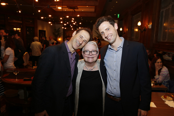 Richard Topol, Paula Vogel and Joby Earle