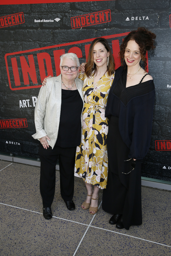 Paula Vogel, Lindsay Allbaugh and Rebecca Taichman