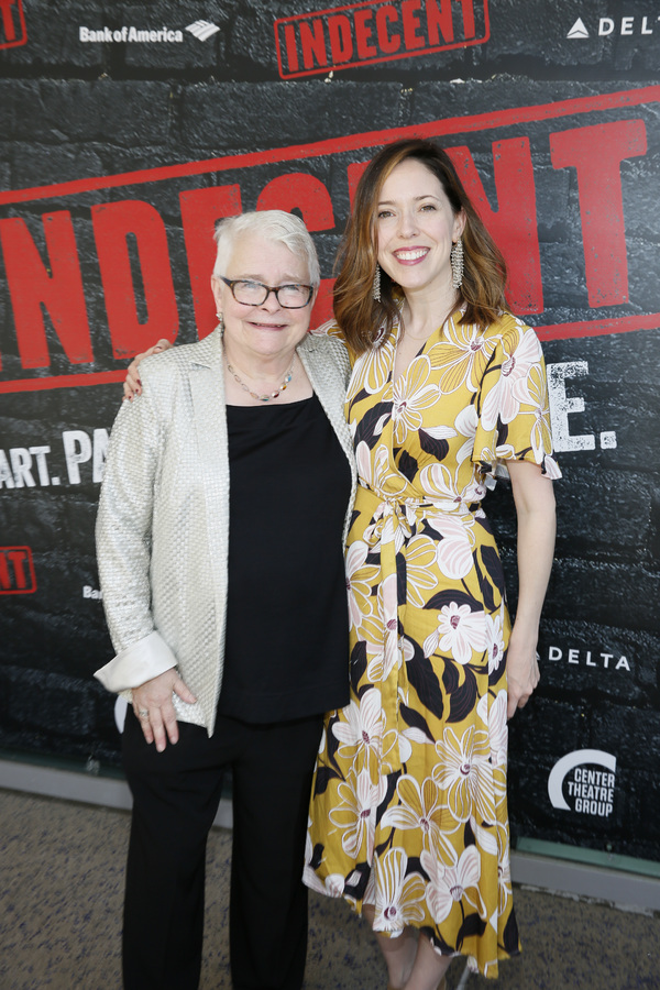 Paula Vogel and Lindsay Allbaugh