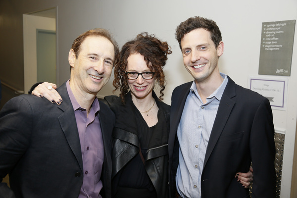 Richard Topol, Rebecca Taichman and Joby Earle