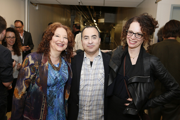 Lisa Gutkin, Steven Rattazzi and Rebecca Taichman  Photo