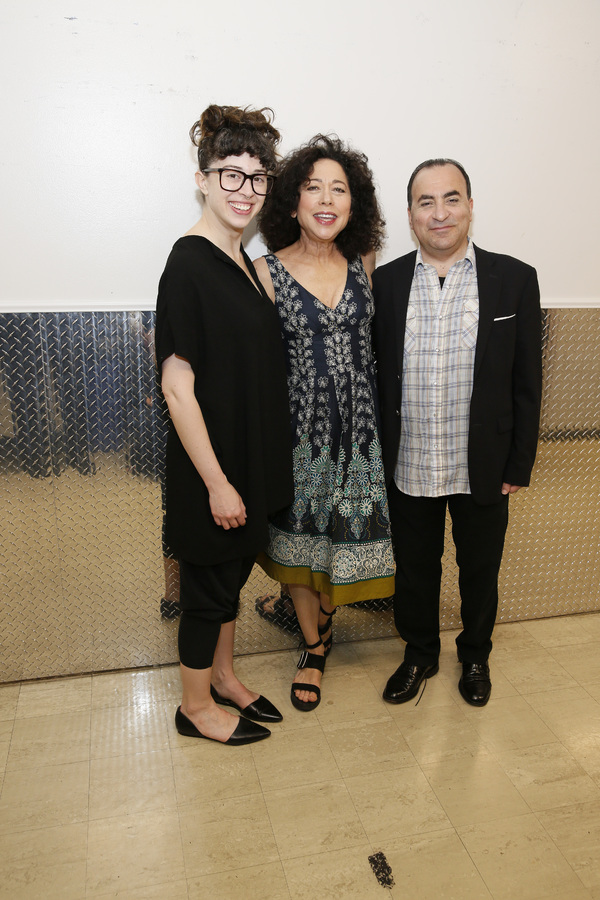 Adina Verson, Mimi Lieber and Steven Rattazzi  Photo