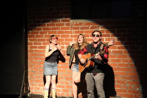 Meghan Parks, Pam Quinn, Connor Pratt Photo