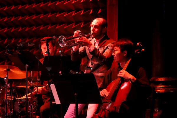 David Berger, Chris DiMeglio and Tomoya Aomori