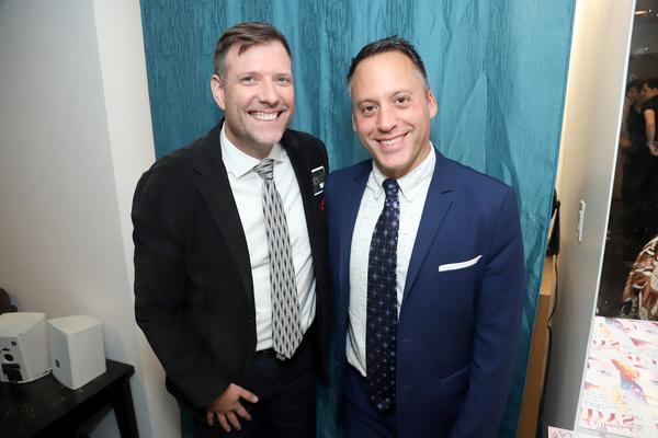 Dan Fortune and Adam Rosen  Photo