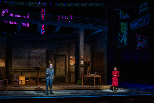 Photo Flash: First Look at Ben Davis, Kendra Kassebaum, and the Cast of the Muny's GUYS AND DOLLS