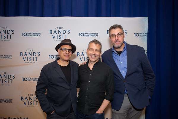 David Yazbek, David Cromer, and Orin Wolf