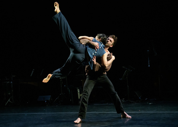 "Doug Varone Dancers Jake Bone and Aya Wilson in ""shelter"" from ""in the shelter of the Photo"