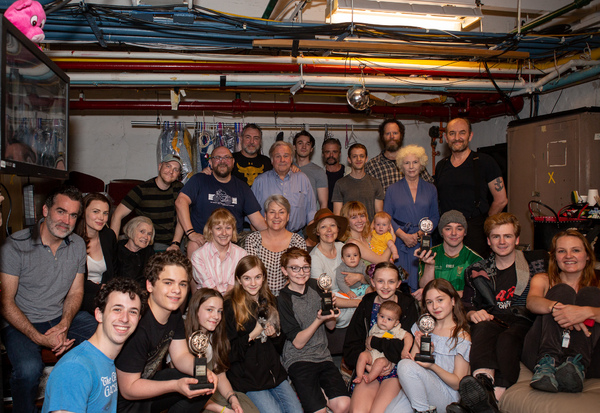 Photo Coverage: The Company of THE FERRYMAN Celebrates Their Tony Victory!