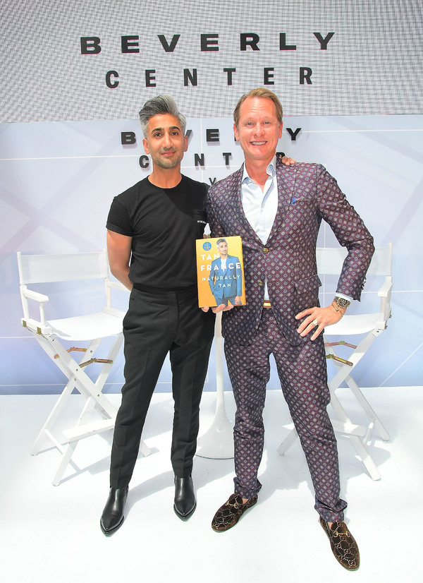 Photo Flash: QUEER EYE Fashion Guru Tan France Interviewed By Carson Kressley at Book Event
