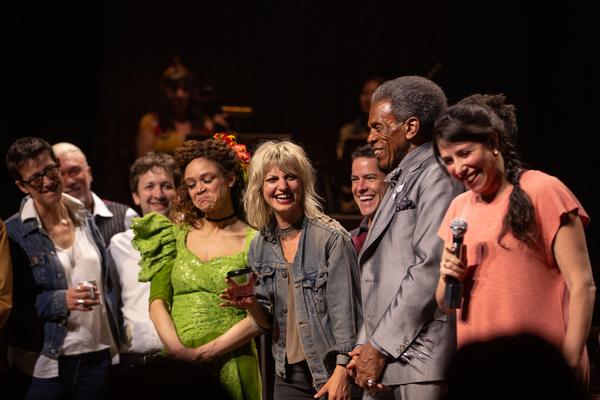 Rachel Chavkin, Rachel Hauck, Anais Mitchel, and the Cast of HADESTOWN Photo