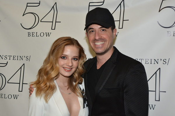 Jackie Evancho and Will Nunziata